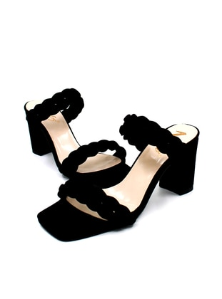 Black - Sandal - High Heel - Sandal