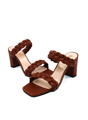 Tan - Sandal - High Heel - Sandal
