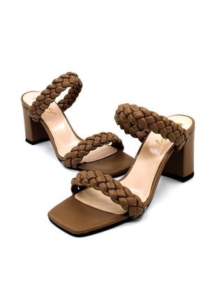 Mink - Sandal - High Heel - Sandal