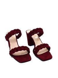 Maroon - Sandal - Sandal