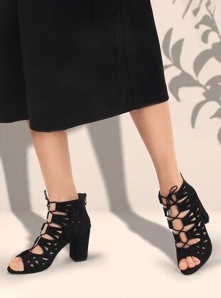Black - Boot - High Heel - Heels