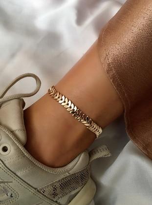 Gold - Anklet - My Joyas Design