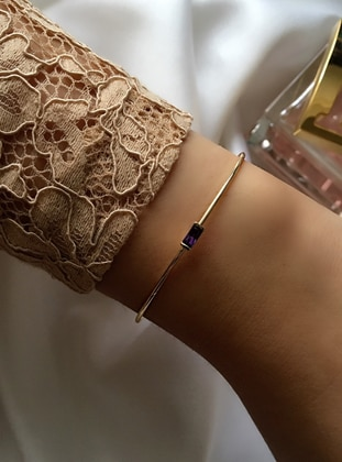Gold - Purple - Bracelet
