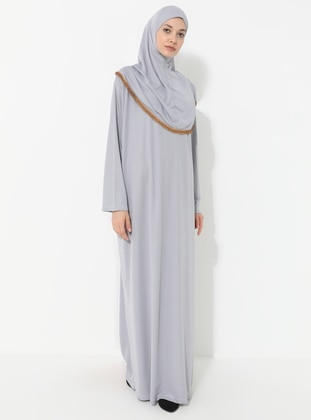Silver tone - Unlined -  - Prayer Clothes