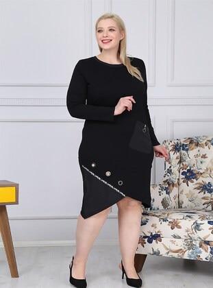 Black - Plus Size Dress