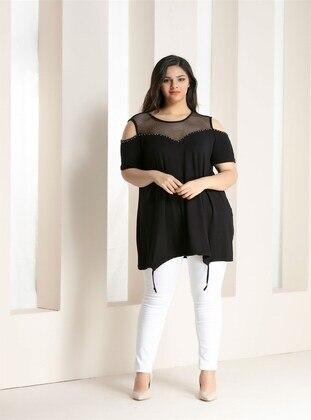 Black - Plus Size T-Shirts