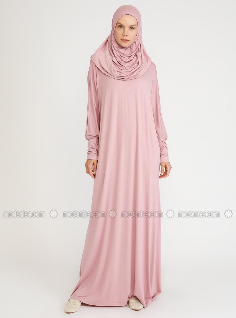 Powder - Unlined - Viscose - Prayer Clothes - Hal-i Niyaz