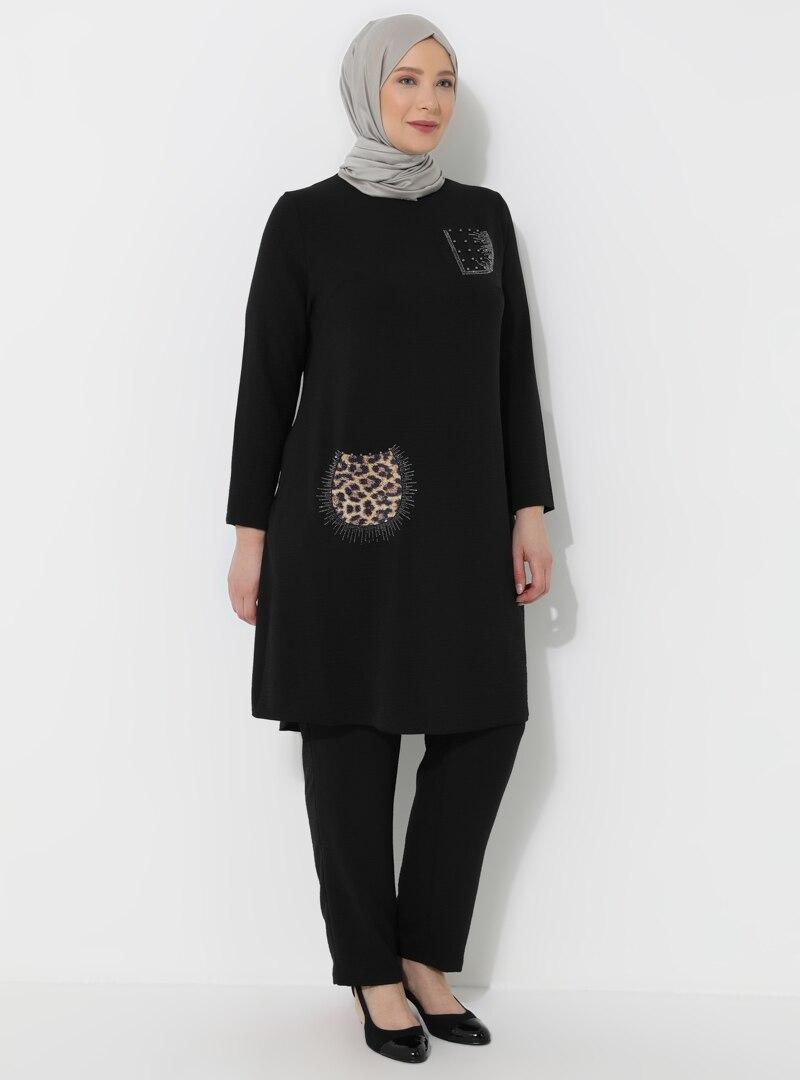 Plus Size Evening Suit Metex Black