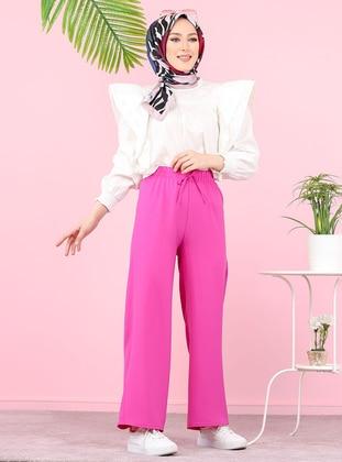 Fuchsia -  - Pants