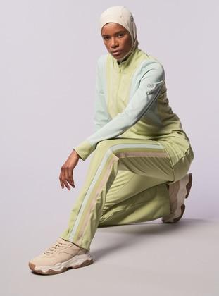 Mint - Sea-green - Green - Sweatpants - FD SPORTS