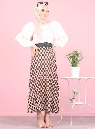 Powder - Polka Dot - Unlined -  - Skirt