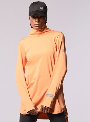 Terra Cotta - Orange - Polo neck - Tracksuit Top