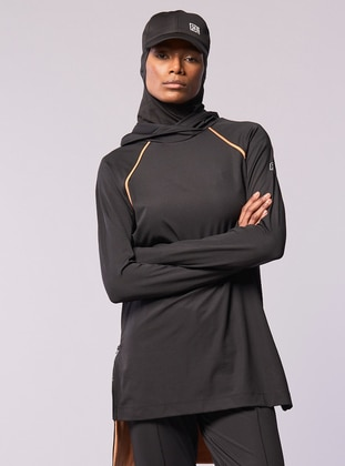 Black - Tracksuit Top - FD SPORTS
