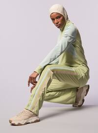 Green - Polo neck - Tracksuit Top