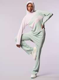 Powder - Green - Tracksuit Top