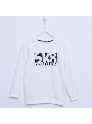 Ecru - Boys` Sweatshirt