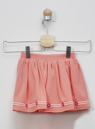 - Salmon - Baby Skirt - Panço