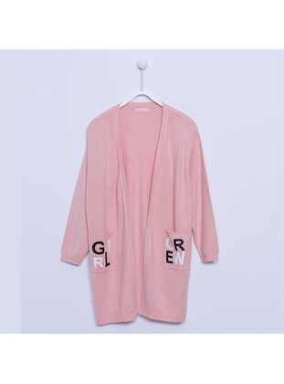 Salmon - Girls` Cardigan - Silversun
