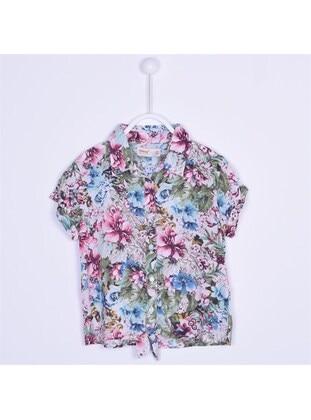 Blue - Girls` Shirt - Silversun