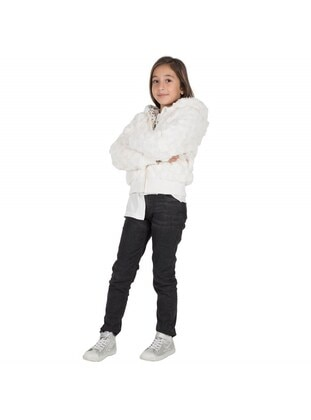 Beige - Girls` Jacket - Silversun