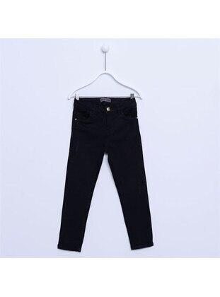 Black - Girls` Pants - Silversun