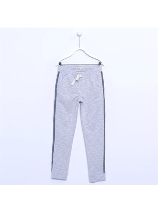 Gray - Girls` Tracksuit - Silversun
