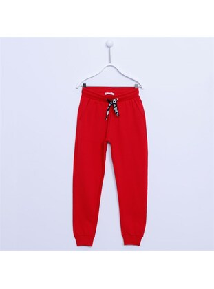 Red - Girls` Tracksuit - Silversun