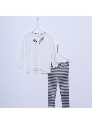 Ecru - Girls` Suit