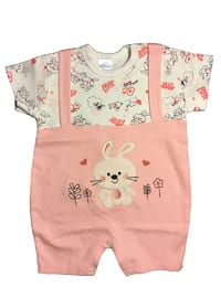 Multi - Crew neck -  - Pink - Overall