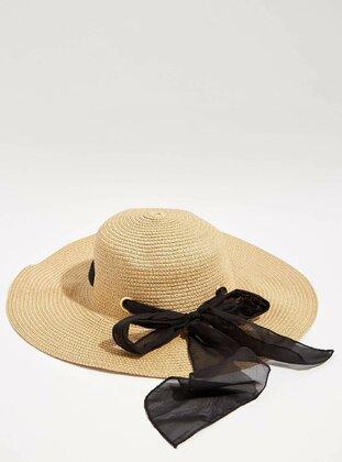 Beige - Hats - DeFacto