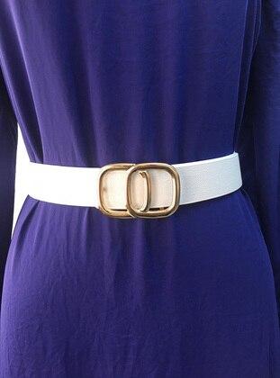 White - Belt - Kabile