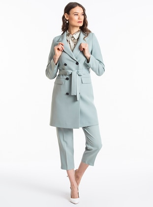 Mint - Unlined - Shawl Collar - Jacket