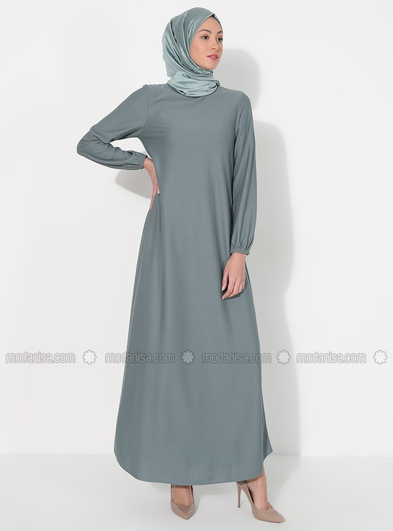 Mint - Hac ve Umre - Crew neck - Unlined - Dress