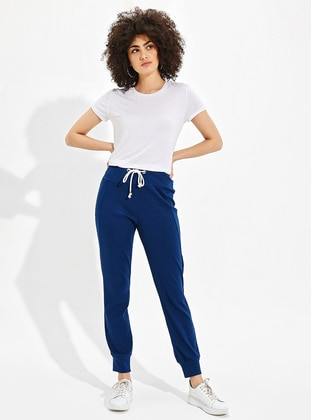 Navy Blue -  - Pants