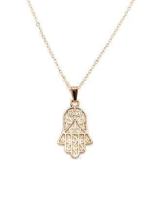 Gold - Necklace - Batı Accessories