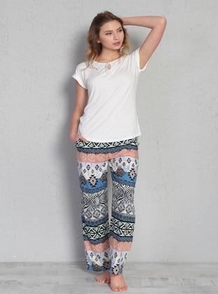 White - Pyjama - VIENETTA