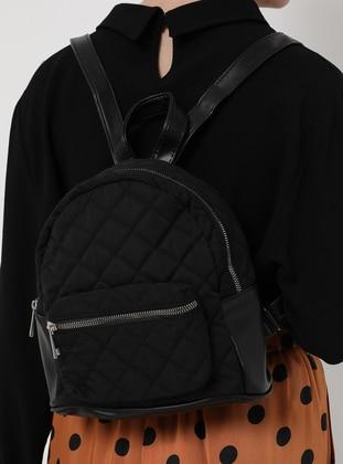 Black - Backpack - Backpacks