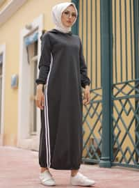 Antrasit - Astarsız - - Elbise - Spor