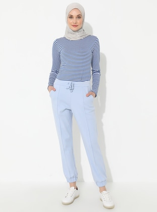 Blue -  - Pants - Muni Muni