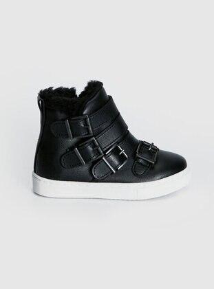 Black - Girls` Boots