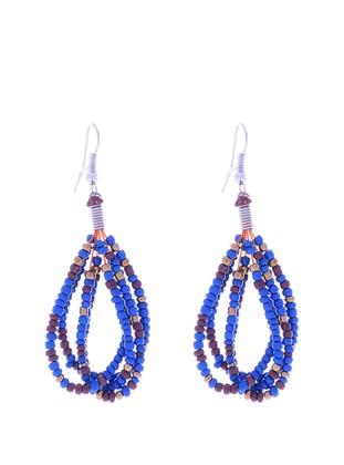 Navy Blue - Earring