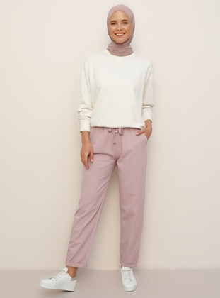 Pink -  - Pants - Everyday Basic