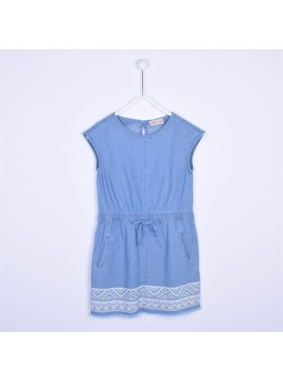 Blue - Girls` Dress - Silversun