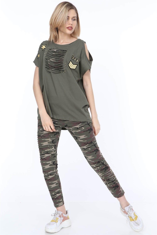 Plus Size Suit MJORA Green