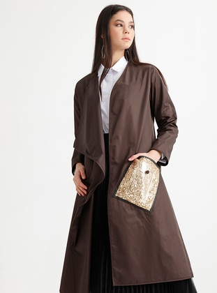 Brown - Unlined - Trench Coat