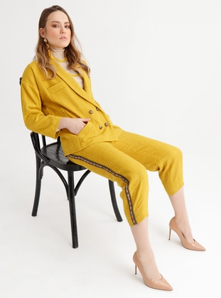 Yellow - Fully Lined - Jacket