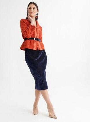 Orange - Fully Lined - Jacket