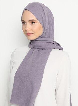 Lilac - Plain - - Shawl