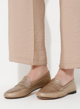 Casual - Gold - Casual Shoes