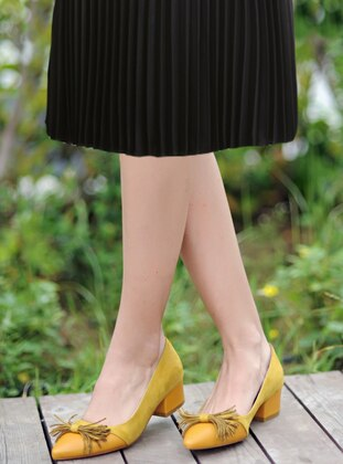 Casual - Mustard - Casual Shoes
